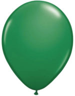 ballon metallic groen
